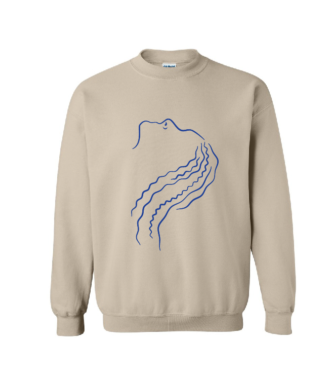 Le Club May Elle Sweater (Sand/Unisex)