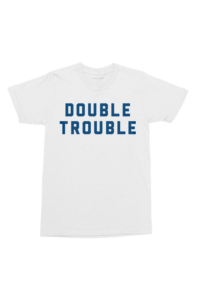 Sainte Cecile Double Trouble Tee (Navy or White)