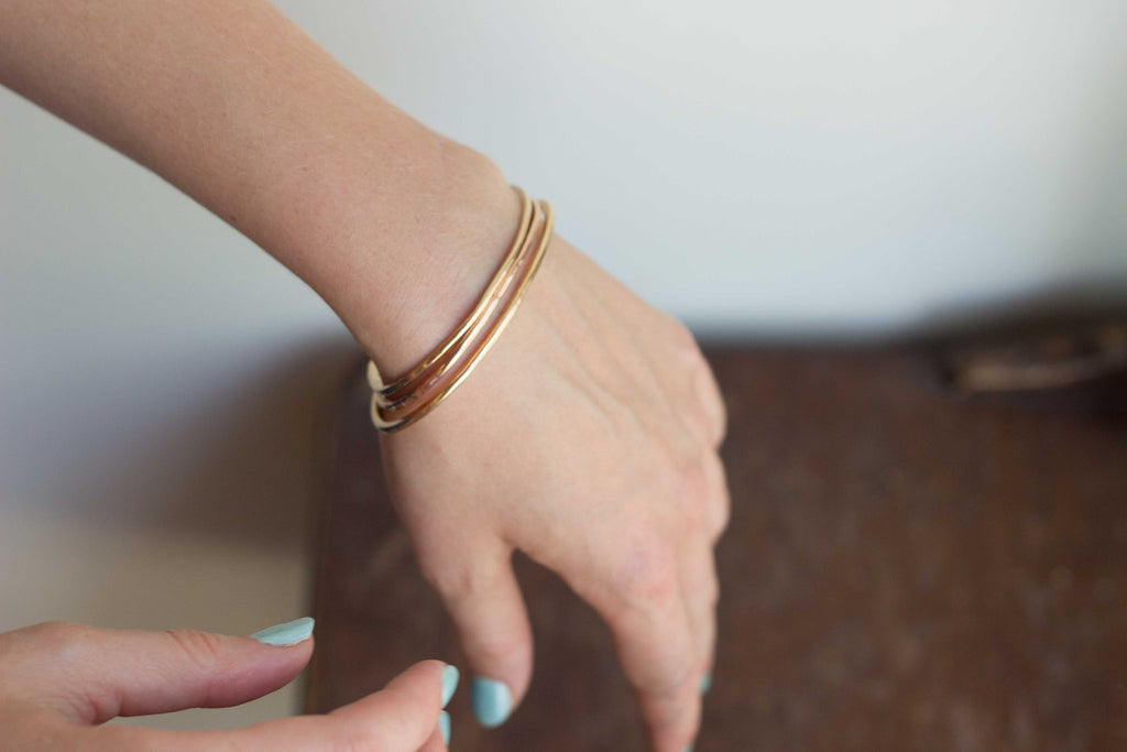Ilsa Loves Rick Kiss Cuff Rose Gold Yellow Gold Victoire Boutique