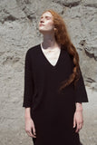 FFORM V-neck Dress Alpaca Peru Toronto designer