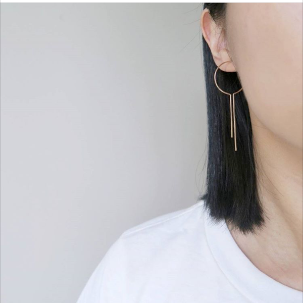 nepheliad dreamcatcher hoop earrings victoire boutique