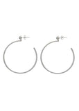 Sarah Mulder Ignite Large Hoops Silver or Gold (3 Stone Options)