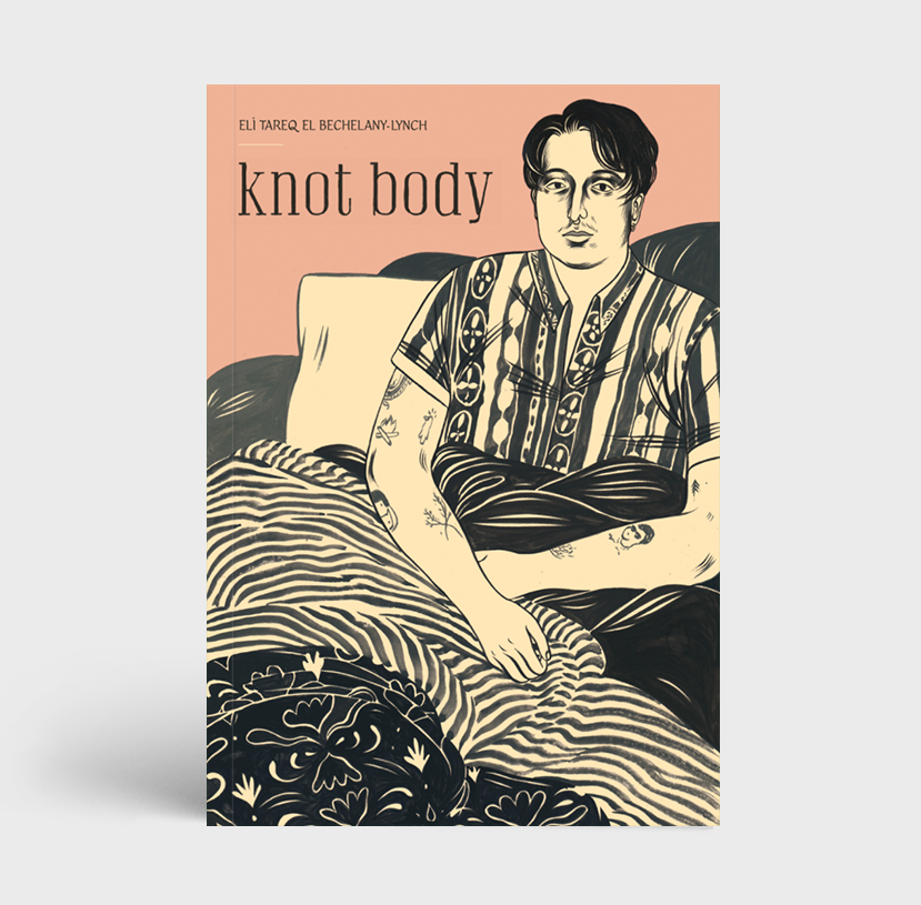 Metatron Press Publishing Montreal Knot Body by Eli Tareq El Bechelany-Lynch. Canadian Independent Publishing Small Press Poetry Essays Chapbook. Independent Writers. Canadian Writers. Victoire Boutique.