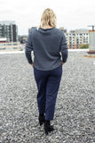 Birds of North America Clothing Toronto Tern Pants Navy Slim Fit Cotton Pant Made in Canada Victoire Boutique Birds of North America Fall 2018 2019