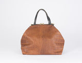 Eleven Thirty XL Katie Bag (Bronze Croc)