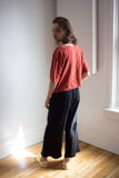 Odeyalo Clothing Montreal Falco Pants Black. Unisex Cotton Athleisure Loungewear Long Black Pants.