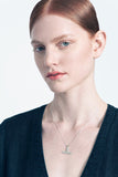 Natalie Joy T Necklace Minimalist Jewelry Jewellery Victoire Boutique Made in Portland Independent Jeweler Brass Pendant