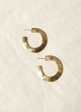 Hawkly Adobe Hoops (Silver or Bronze)