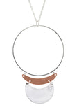 Sarah Mulder After Hours necklace silver copper