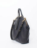 Eleven Thirty shop Anni Large black leather bag made in Toronto