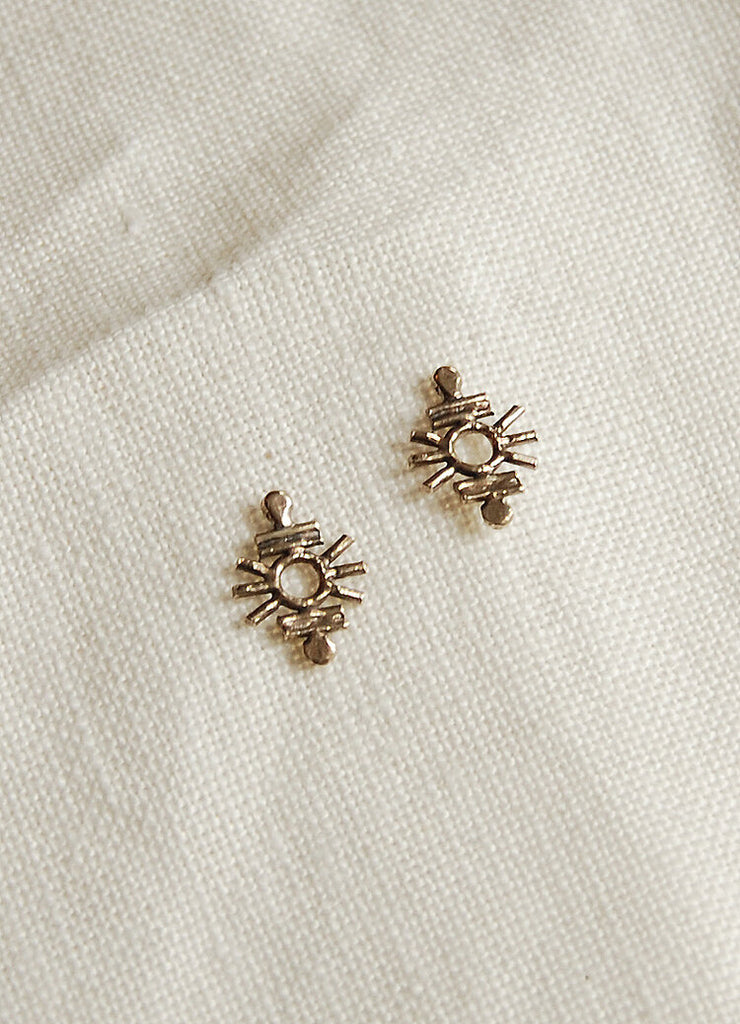 Hawkly Cosmo Studs (Silver or Bronze)