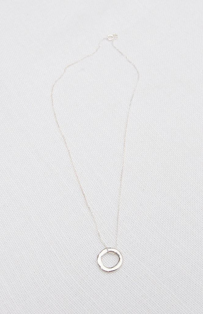 Hawkly Jewelry Toronto Ethereal Necklace Bronze or Silver. Minimalist Necklace.
