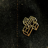 Bruised Tongue Ottawa Get Bent Lapel Pin
