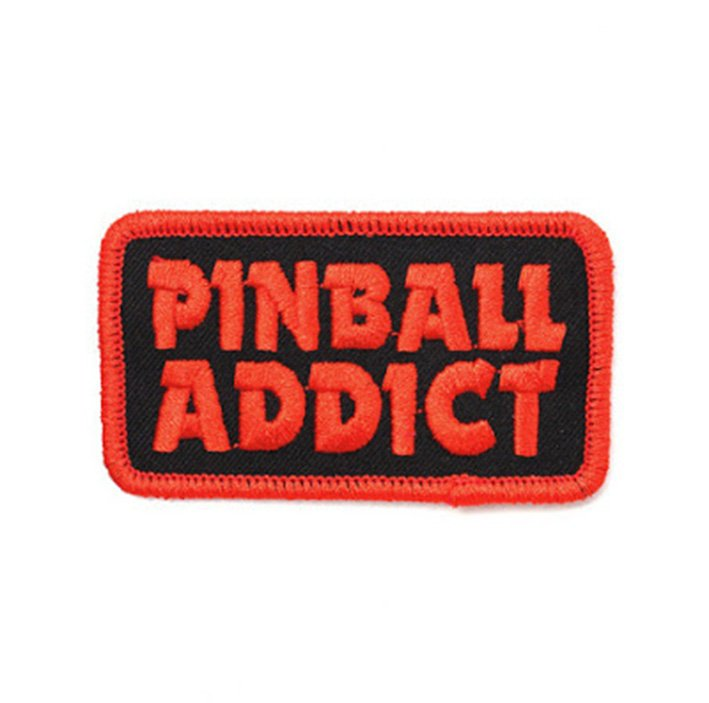 Bruised Tongue Pinball Addict Patch