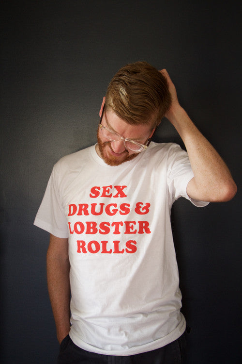 Girl From Away Sex Drugs and Lobster Rolls Tshirt