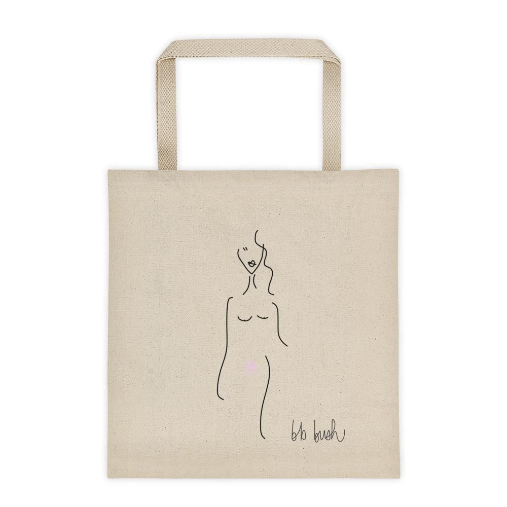 BB Bush Clothing Lola Tote Bag Canvas Feminist Clothing Company Feminist Art Made in Halifax Canadian Fashion Victoire Boutique