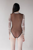Bully Boy Loretta Bodysuit (Zebra)