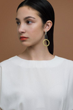 Natalie Joy Lower Circle Earrings