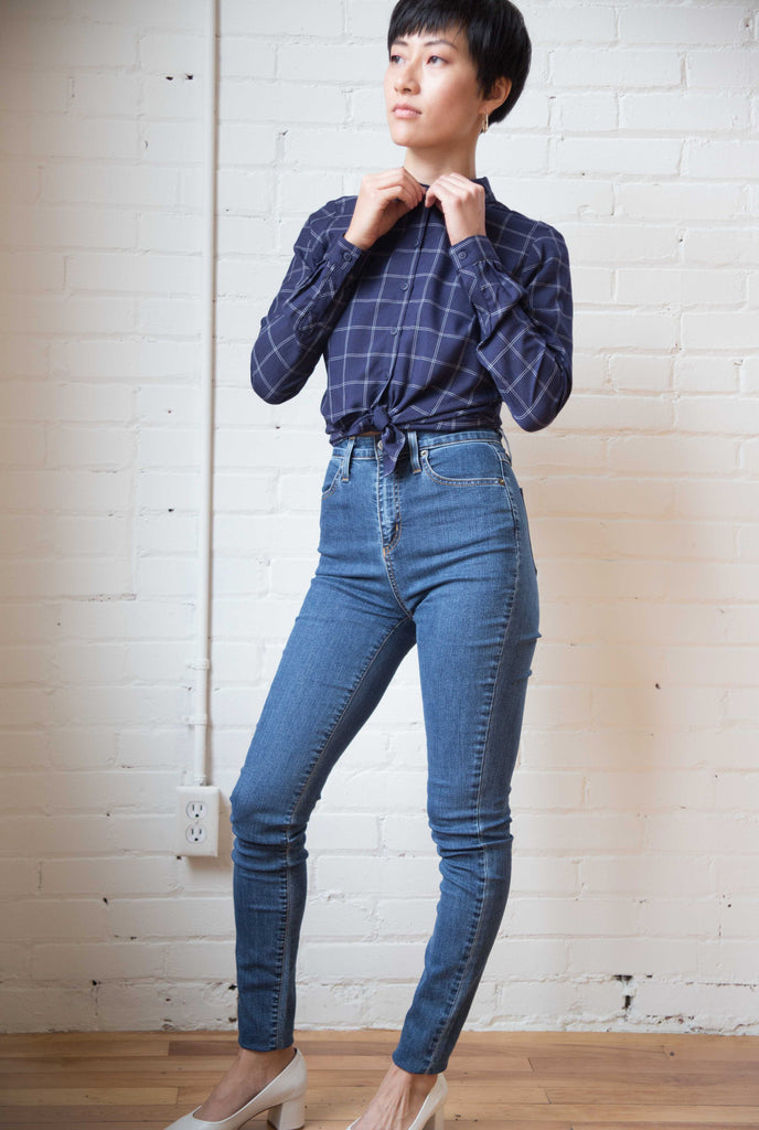 Iris Denim X Offender Jeans High Waisted Skinny Victoire Boutique