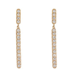 Hanging Diamond Earrings