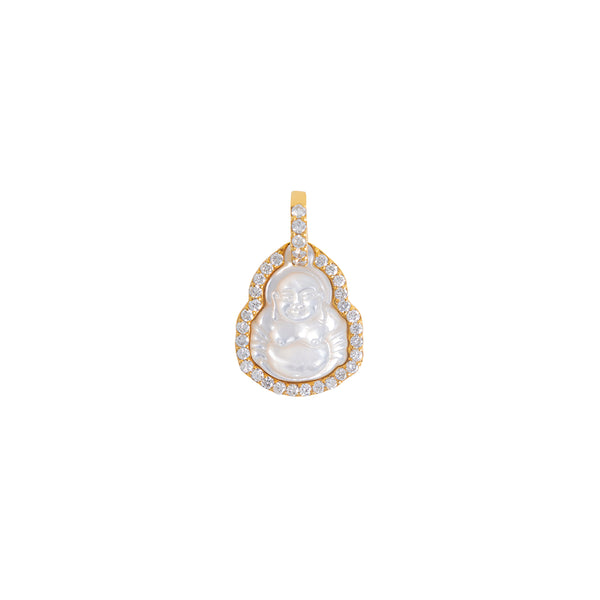 Small Buddha Pendant With Diamonds