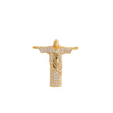 Christ the Redeemer Pendant With Diamonds