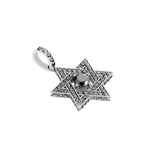 Star David Pendant With Diamonds