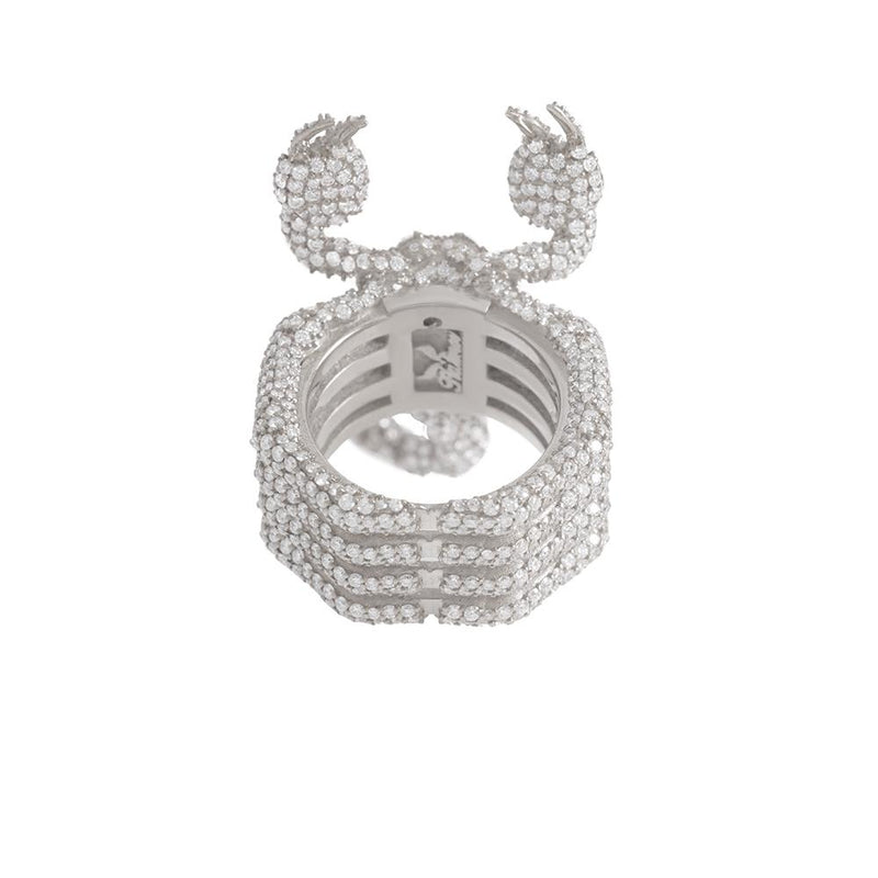 Scorpion Ring For Men With Diamonds