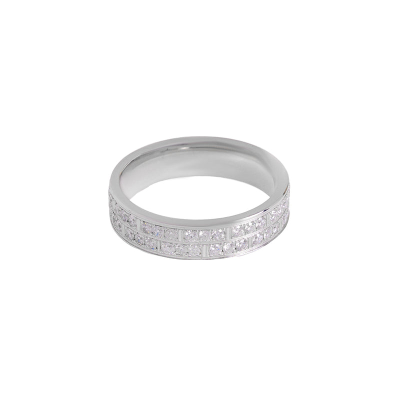 Wedding Band Ring For Men With Diamonds
