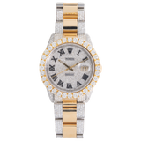 Rolex DATEJUST Iced Out With Diamonds