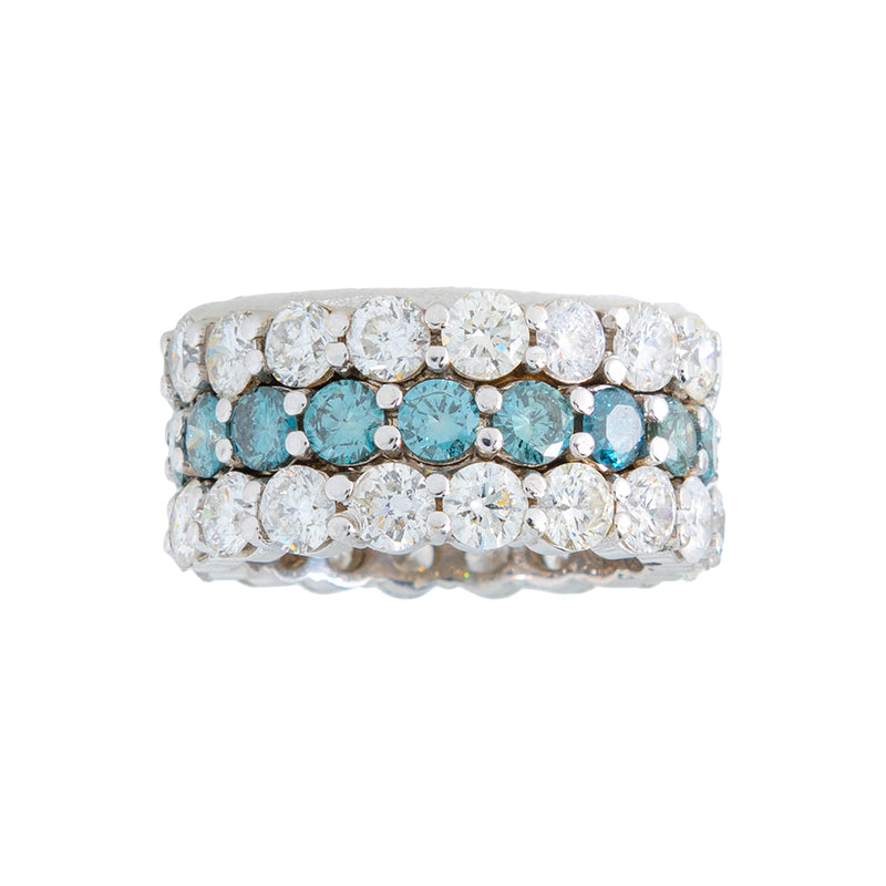 Diamond Eternity Ring 3 Row