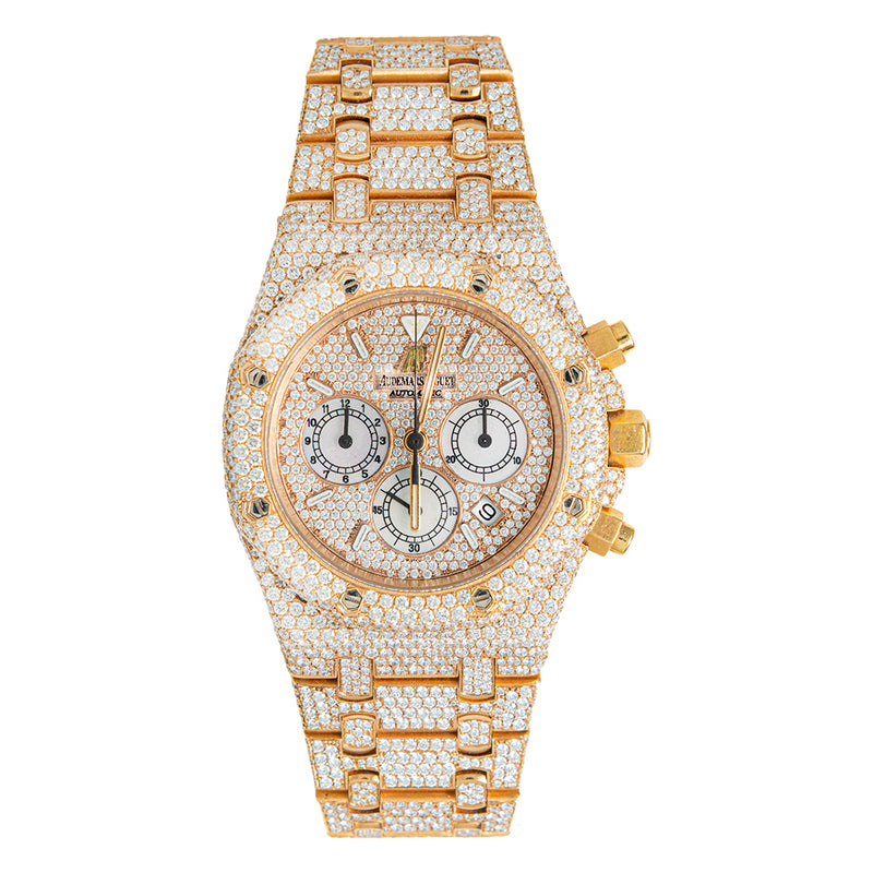 Audemars Piguet Automatic Fully Iced Out