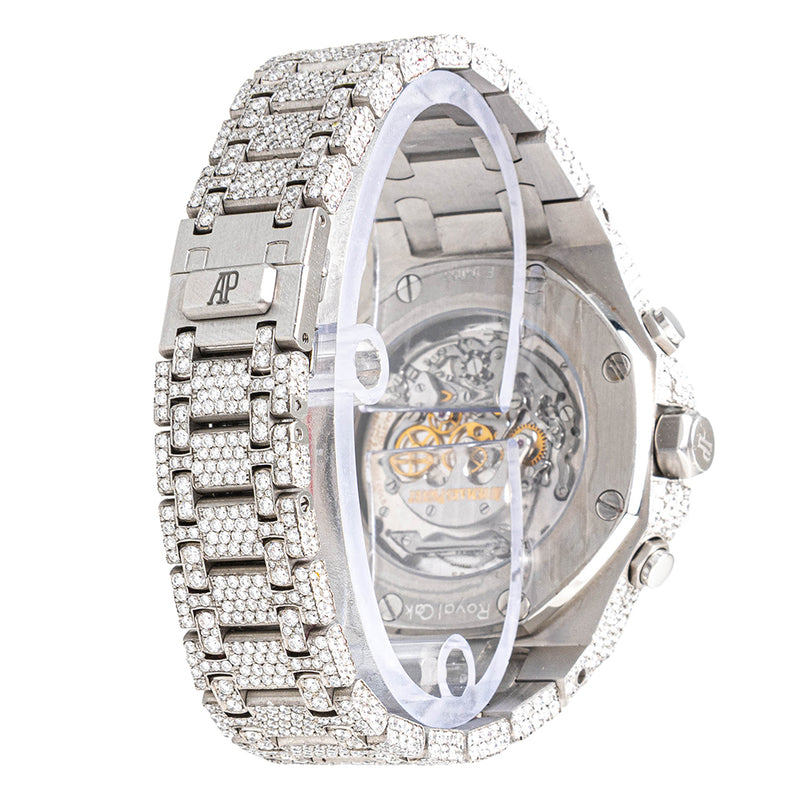 Audemars Piguet Royal Oak Fully Iced Out