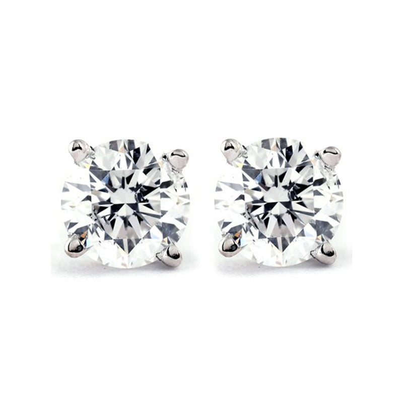 Single Diamond Studs