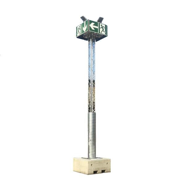 Emergency Tower - Höhe 600 cm