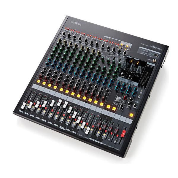 Audio Mixer - Yamaha MGP 16X - 12 & 2 Stereo In I 2 sym. Out
