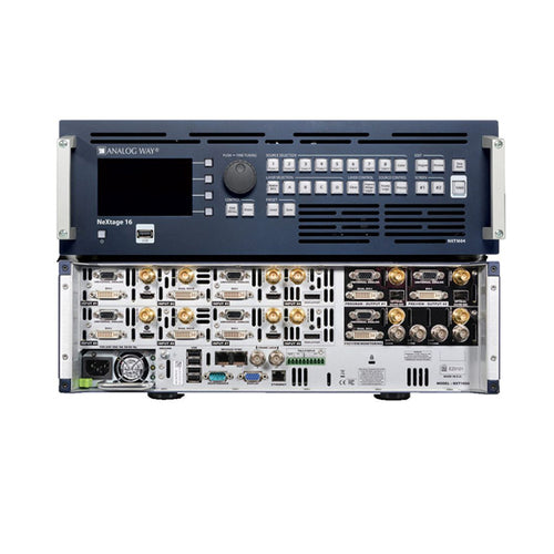 Multi-Layer Seamless Switcher - Analog Way NEXTAGE 16 - 4K
