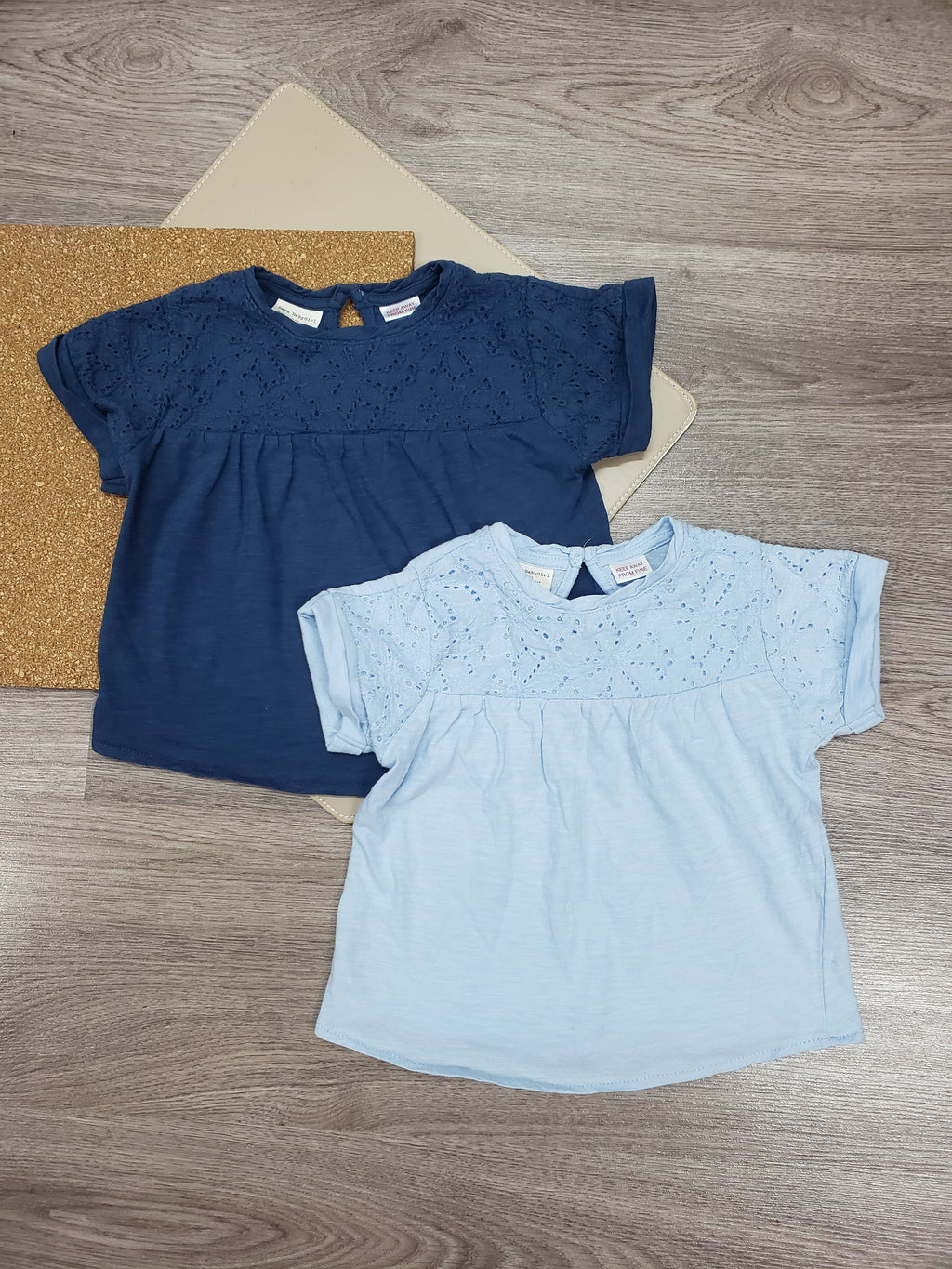 Duo de Chandail zara fille 2-3T