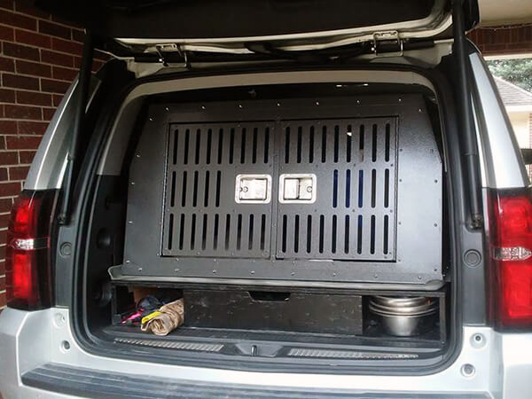 Custom Dog Kennel for Dodge Caravan