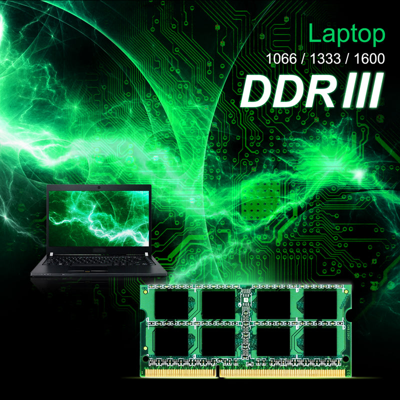 DDR3L 1600MT/s (PC3L-12800) 8GB 1.35V Laptop SODIMM [Retail Package]
