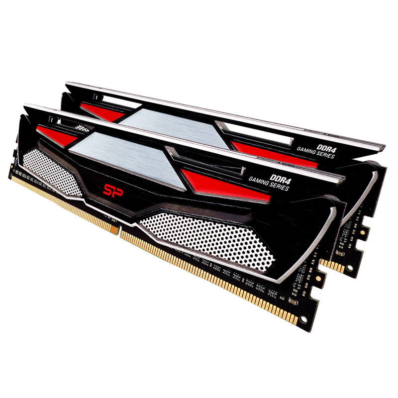 Silicon Power Gaming Series DDR4 3600MHz (PC4 28800) 16GB(8GBx2)-32GB(16GBx2) Dual Pack 1.35V Desktop Unbuffered DIMM