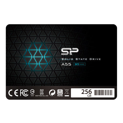 Silicon Power A55 256GB TLC SATA III 6Gb/s 2.5-inch Internal Solid State Drive
