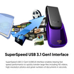 Silicon Power Blaze B31 64GB USB 3.1 Gen 1/ USB 3.0 Flash Drive