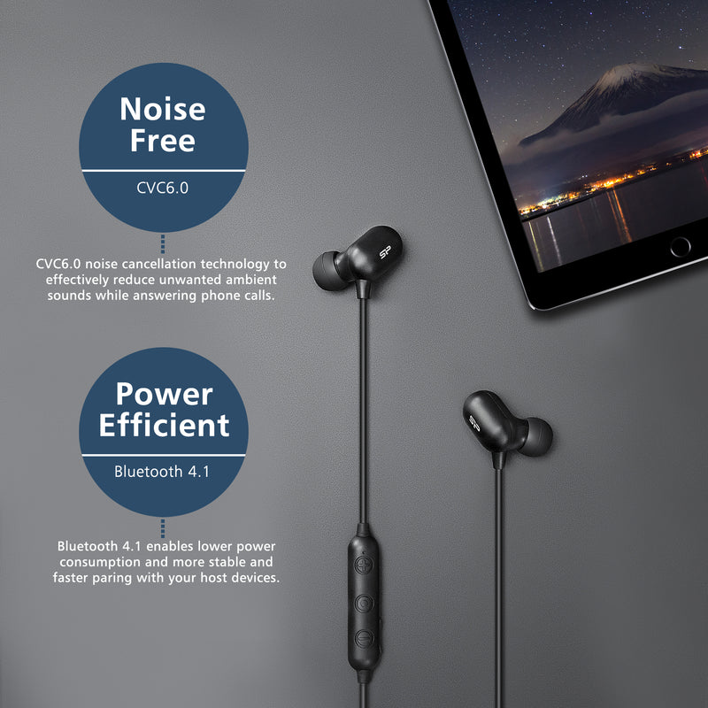 Silicon Power BP61 Earbuds Headphones with Mic