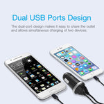 Silicon Power Dual-Port Car Charger-Black