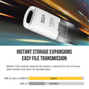 Silicon Power Mobile C10 32GB Type-C USB 3.1 Gen 1/ USB 3.0 Flash Drive- Black