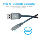Silicon Power USB C to Type A Cable 3.3 FT (1M)