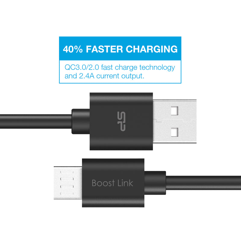 Silicon Power Micro USB 3.3 FT (1M) Charging Cable