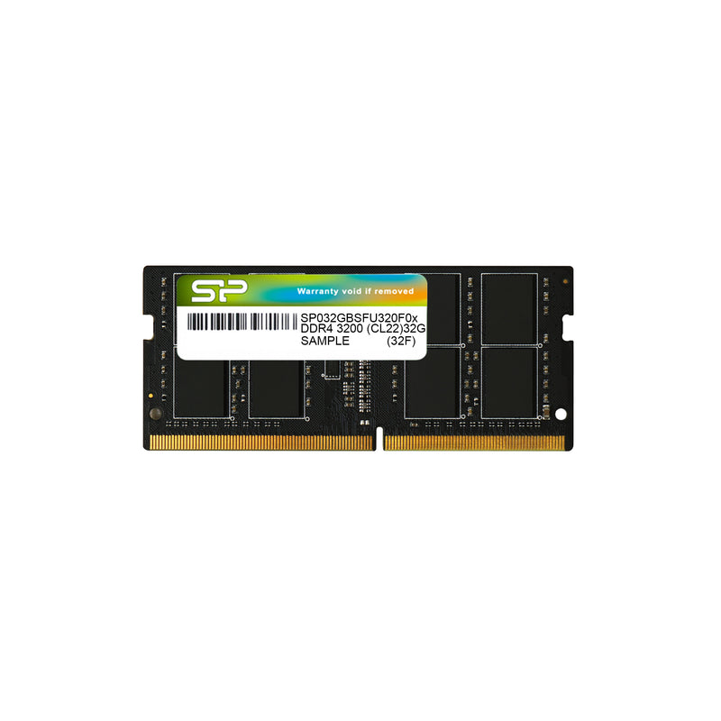 Silicon Power DDR4 3200T/s (PC4-25600) 8GB-32GB Single Pack 1.2V Laptop SODIMM