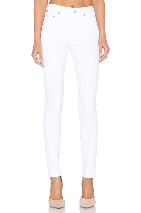OPTIC WHITE ROCKET H/R SKINNY JEANS